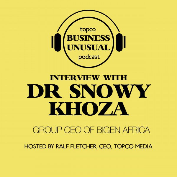 Transforming Lives and Communities – Dr Snowy Khoza